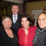 Te Rawanek Hemara, Kevin Coles, Hinerangi Edwards and whanau