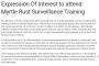 Expression Of Interest to attend: Myrtle Rust Surveillance Training.